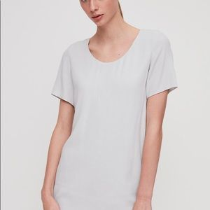 NWOT Wilfred Free White Teigen Dress Size Large